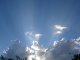 sunshine through clouds 7 by BANanered