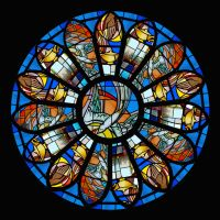 First Assembly Deaf Chapel Rose Window by schwabbyfw