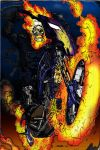Ghost Rider colored by shubcthulhu