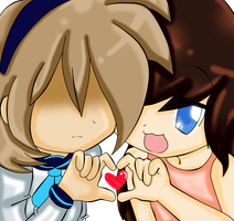 Alice and ninnah by Damian-Fluffy-Doge