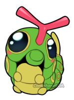 Caterpie by CookieHana