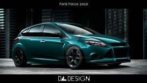 Ford Focus 2012 by DzDesign