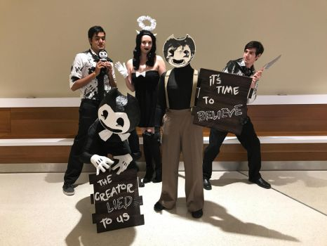 Bendy and the Ink Machine: The Gangs all Here! by GailFreebird
