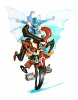 HARLEY QUINN COLOR_commission by EricCanete