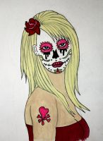 Blonde Sugarskull by ianhogger