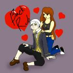 Ramon Salazar and Kat Request by Senshisoldier