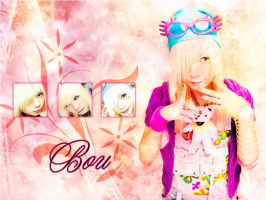 Bou.:.Wallpaper by chibi-shinzo