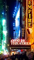 AMC theatre - New York by Marcusion