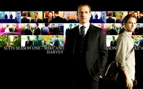 Suits Wallpaper by NorteBelle