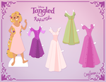 Rapunzel Paper Doll Version 2 by Cor104
