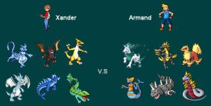 me vs rival, my pokestyle by Joineth