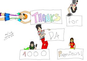 Thanks for 1000 pageviews by marinuk-pencilpower