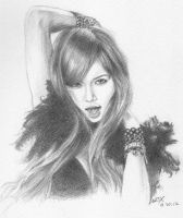 Hyuna of 4Minute by wrexjapan