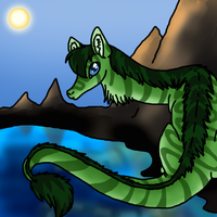 Chillin' by the lake by catlover1672