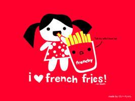 french fry love wp by ilovegravy