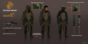 Commision: Ocelotl MK. IV Sneaking Suit by FutureFavorite