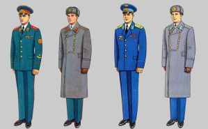Soviet Army Uniforms 39 by Peterhoff3