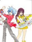 Sora and Takhara by ErzaScarletFan1