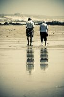 Walk for four by ChristineAmat