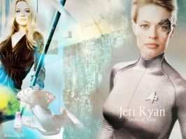 Jeri Ryan: Seven of Nine by Belanna42