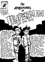 Hyperman no.2 Cover by jenardist