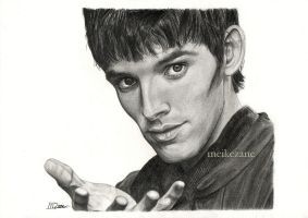 Colin Morgan - Merlin by MeikeZane