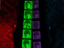 The Beatles- Fab Four-ever 'Wallpaper' by pjcb12
