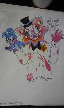 Puppet master funtime freddy (sister location) by thesonadowfamily