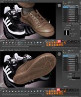 How to Make Realistic Sport Shoes 100% in Mudbox by SergioMengual2012