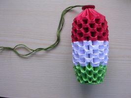 3D origami - Hungarian roll by Ketike