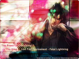 The Hero .. Jin Kazama by Hakupa