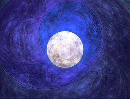 Full Moon Fractal by mps21877