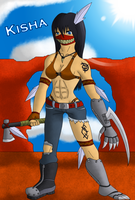 New Character: Kisha, In The Wastes. by shadow-recon-666