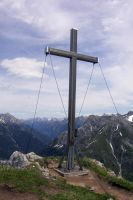 Peak Cross in the Alps by m3t4lh34d2666