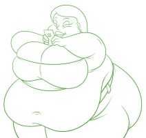 Rotund Roberta by TubbyToon