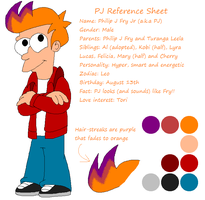 PJ Reference Sheet by HeartinaRosebud