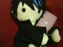 adam lambert plushie by akai-bucket
