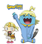 Meowth  Wobbuffet (XY) by Gamer5444