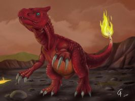 Real Charmeleon by CamusAltamirano