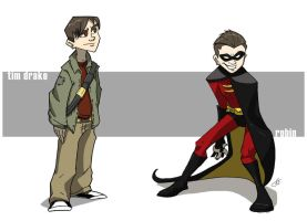 Robin aka Tim Drake by killintyme