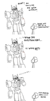 blaine becomes a transformer by staelus
