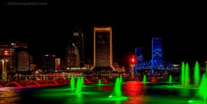Merry Christmas from Jacksonville by alphamegapixel