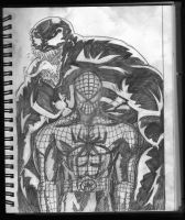 Spider-Man and Venom: Foreshadow. by imonsterfyu