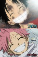 one piece and fairy tail RESEMBLE 10 by sheng-fu