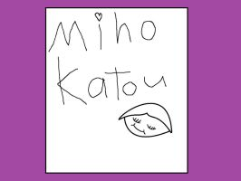Miho autograpth by Dinossword