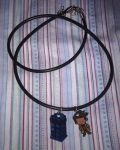Doctor and TARDIS necklace by Lovelyruthie