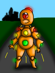 New Character Simmon S by CrossoverGamer