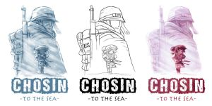 Chosin To The Sea Cover Process by OtisFrampton