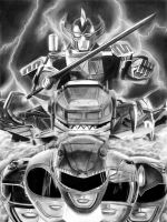 Mighty Morphin Power Rangers by bmac78