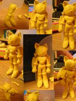 I made Rouge out of YellowClay by knuxnbats